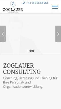 Vorschau der mobilen Webseite www.zoglauer-consulting.at, Zoglauer Consulting