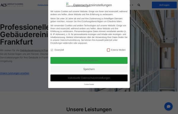 Vorschau von www.absolutcleaning.de, Absolut Cleaning Service GmbH