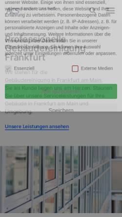 Vorschau der mobilen Webseite www.absolutcleaning.de, Absolut Cleaning Service GmbH