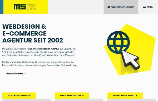 Vorschau von www.ms-webdesign.at, MS WEBDESIGN