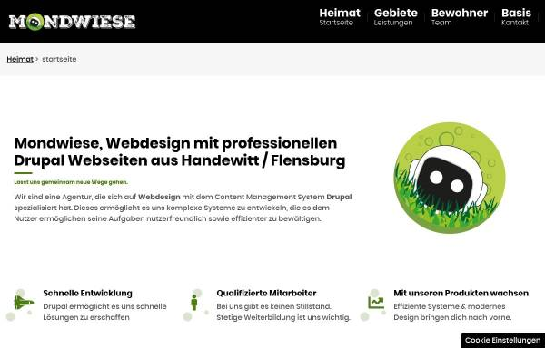 Vorschau von mondwiese.de, Mondwiese GmbH
