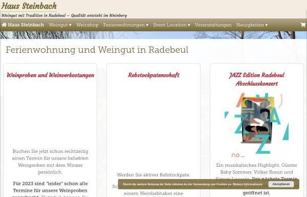 Vorschau von www.haus-steinbach.de, Haus Steinbach