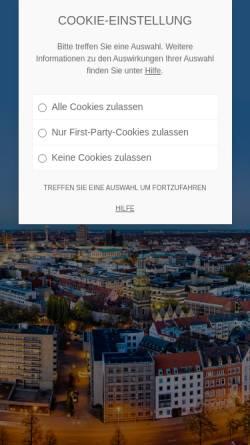 Vorschau der mobilen Webseite gebaeudereinigung-hannover24.com, Gebäudereinigung Hannover