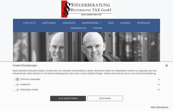 Vorschau von www.steuerberatung-westermann.de, Steuerberatung Marc Westermann