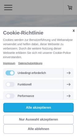 Vorschau der mobilen Webseite www.tipunen.com, Tipunen