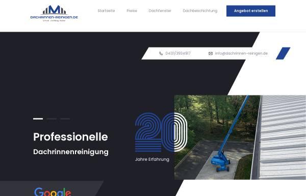 Vorschau von www.dachrinnen-reinigen.de, Modern Living Service Ltd