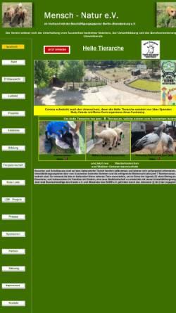 Vorschau der mobilen Webseite www.mensch-natur.eu, Mensch - Natur e.V.