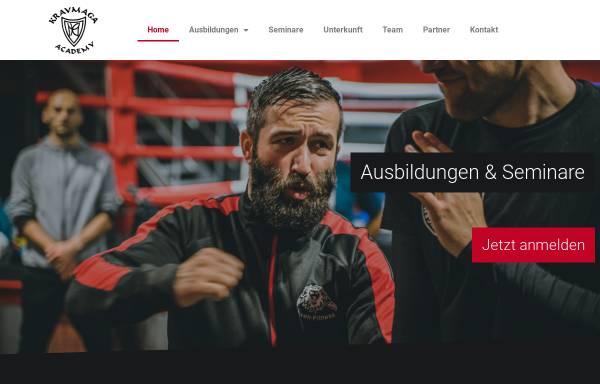 Vorschau von kravmaga-ausbildung.de, Krav Maga Academy