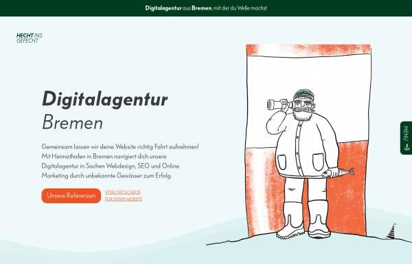 Vorschau von hechtinsgefecht.de, Digitalagentur Hecht ins Gefecht - Webdesign & SEO