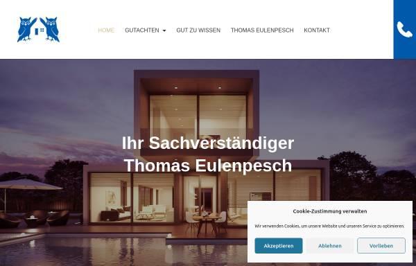 Vorschau von www.gutachter.immo, Eulenpesch Planungs- und Sachverständigenbüro