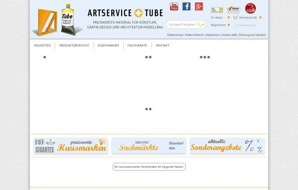 Vorschau von www.artservice-tube.de, Artservice Gerhard auf der Heide GmbH