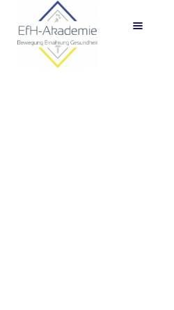 Vorschau der mobilen Webseite www.efh-akademie.de, EfH-Akademie