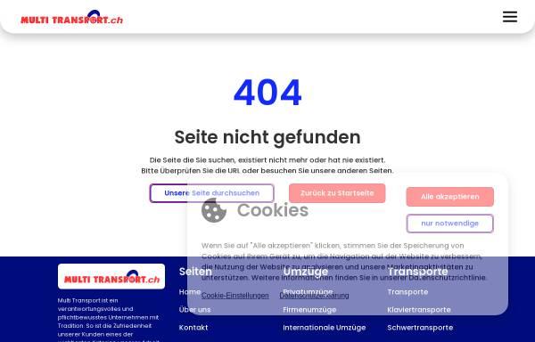 Vorschau von www.multitransport.ch, Multi Transport Seven