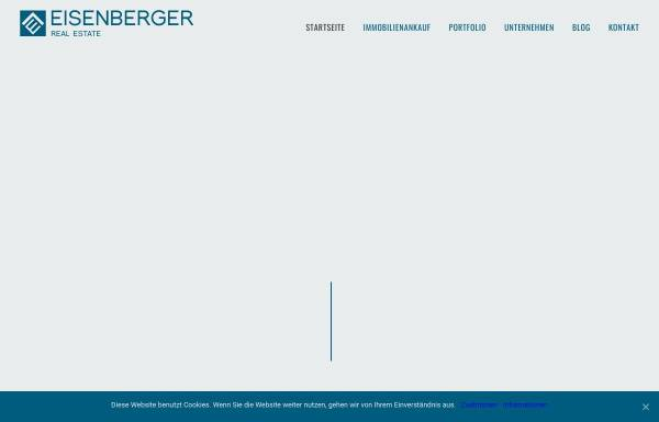 Vorschau von eisenberger-realestate.de, Eisenberger Real Estate GmbH