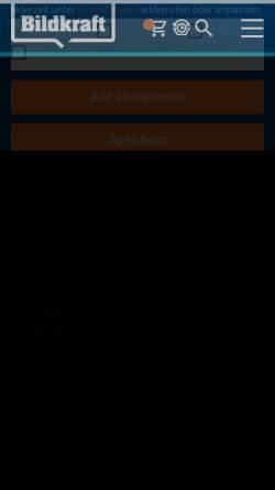 Vorschau der mobilen Webseite www.bildkraft.tv, Bildkraft
