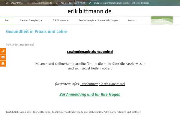 Vorschau von www.erikbittmann.de, Erik Bittmann