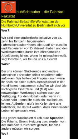 Vorschau der mobilen Webseite www.refrat.de, hubSchrauber