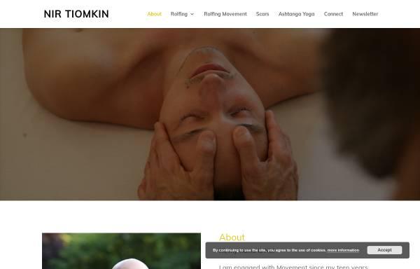 Vorschau von www.nirtiomkin.com, Nir Tiomkin