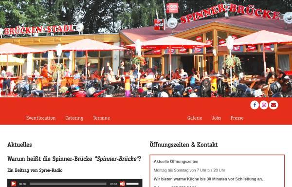 Vorschau von www.spinner-bruecke.de, Spinnerbrücke