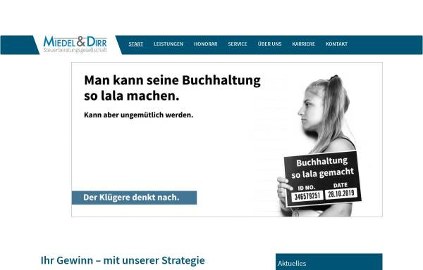 Vorschau von www.miedel-dirr.de, Miedel & Dirr GmbH