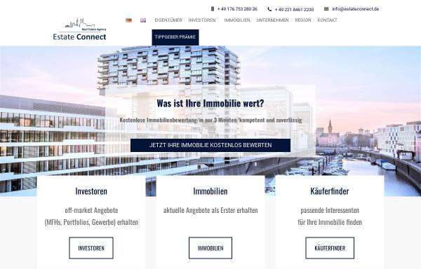 Vorschau von estateconnect.de, Estate Connect
