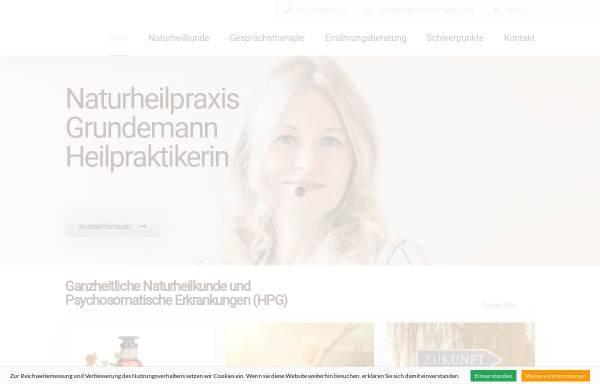 Vorschau von heilpraktiker-mainz.com, Naturheilpraxis Christine Grundemann