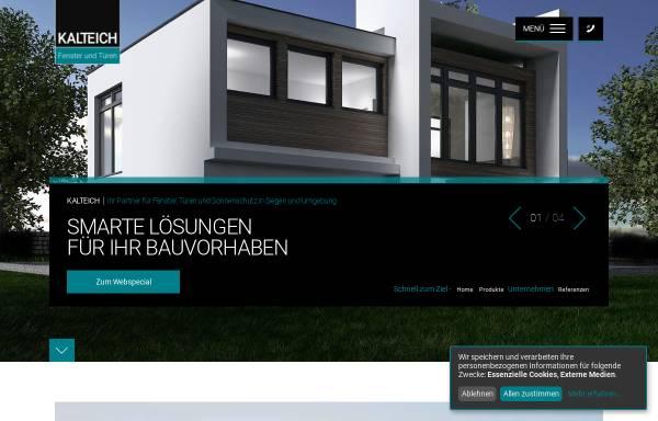 Vorschau von www.kalteich-fenster.de, Kalteich Fenster