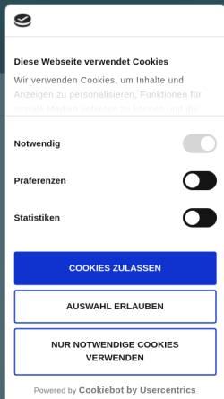 Vorschau der mobilen Webseite www.dmsfactory.com, DMSFACTORY GmbH