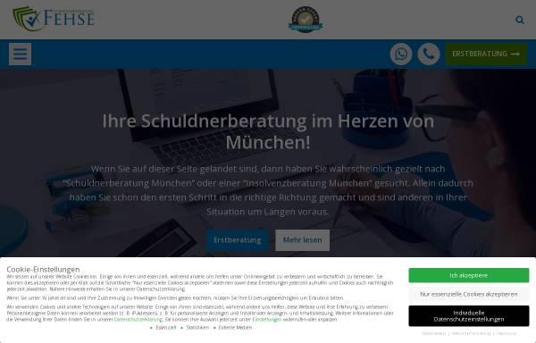 Vorschau von www.schuldnerberatung-fehse.de, Schuldnerberatung Fehse