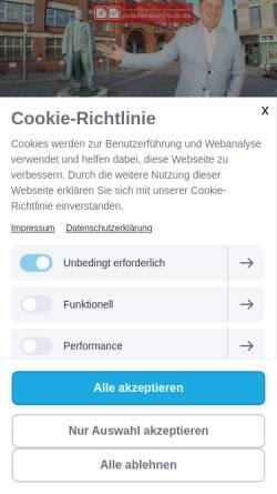 Vorschau der mobilen Webseite www.policenschreck.de, Der Policenschreck - Thomas Renker