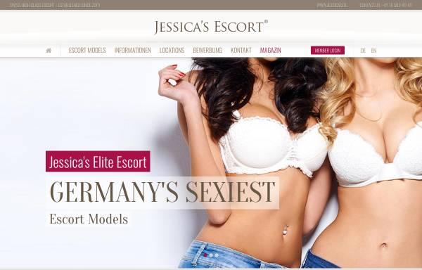 Vorschau von www.jessicas.de, Jessica's Escort München