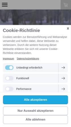Vorschau der mobilen Webseite www.irbis-shop.at, Irbis-Shop e.U.