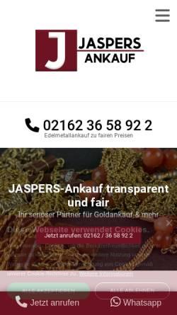 Vorschau der mobilen Webseite www.baumfalk-ankauf.de, BAUMFALK-Ankauf