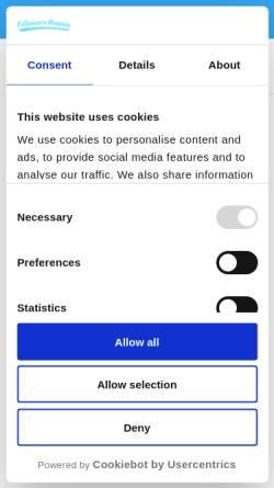 Vorschau der mobilen Webseite followersheaven.de, Leadconsulting UG