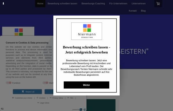 Vorschau von bewerbung-schreiben-lassen.eu, Niermann Consulting