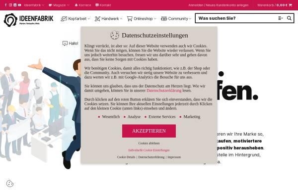 Vorschau von www.ihre-ideenfabrik.de, Ideenfabrik GmbH