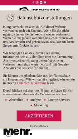 Vorschau der mobilen Webseite www.ihre-ideenfabrik.de, Ideenfabrik GmbH
