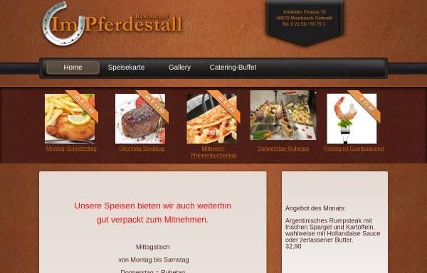 Vorschau von impferdestall.de, Restaurant im Pferdestall