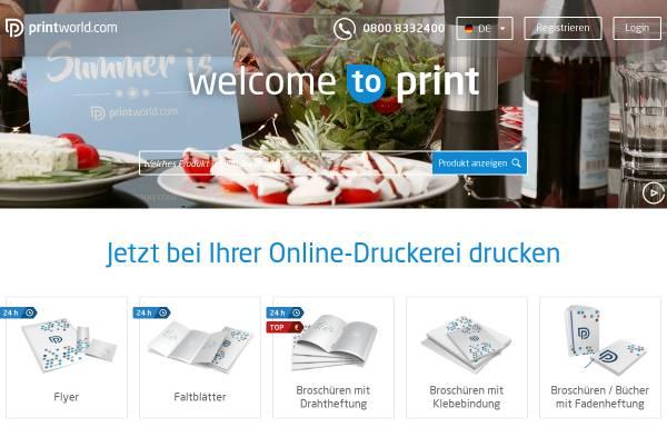 Vorschau von www.printworld.com, printworld.com GmbH