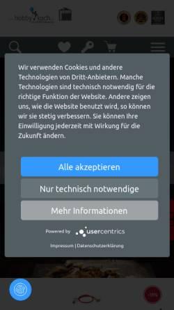 Vorschau der mobilen Webseite www.derhobbykoch.de, derhobbykoch.de