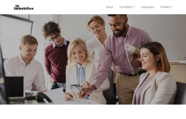 Vorschau von www.78v.de, Immobilienmakler 78v - Sukri & Senat Jusuf GbR