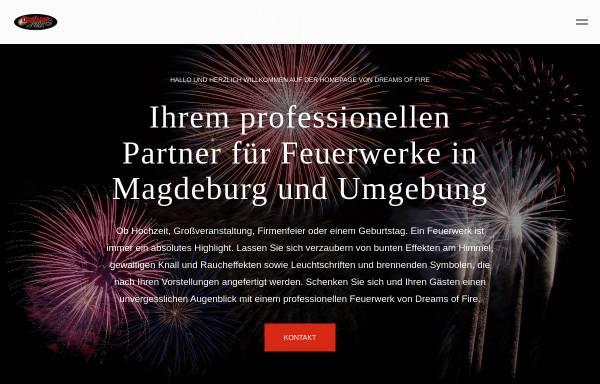 Vorschau von www.feuerwerk-magdeburg.com, Dreams of Fire