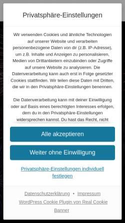 Vorschau der mobilen Webseite www.feuerwerk-magdeburg.com, Dreams of Fire