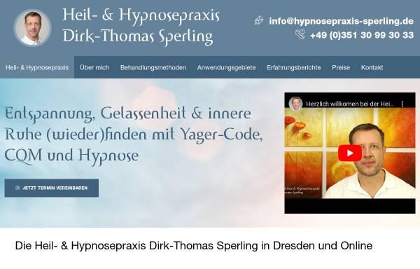 Vorschau von hypnosepraxis-sperling.de, Hypnosepraxis Sperling