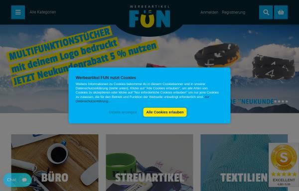 Vorschau von www.werbeartikel.fun, MaRe Handels GmbH
