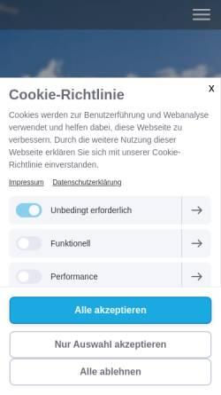 Vorschau der mobilen Webseite www.psychotherapie-praxis-iserlohn.de, Heilpraktikerin für Psychotherapie - Susanne Bölling