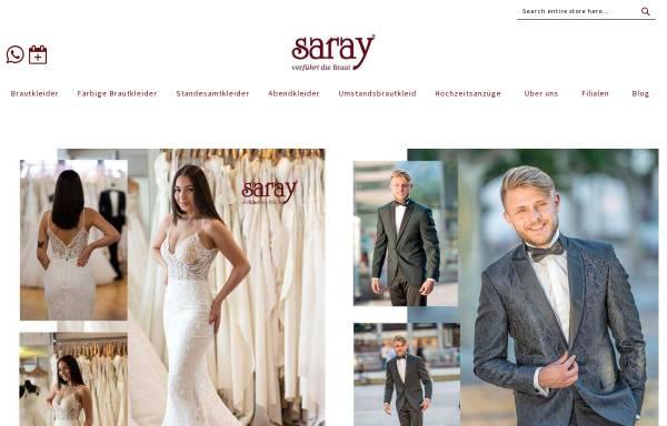 Vorschau von saray-brautmoden.de, Saray Brautmoden