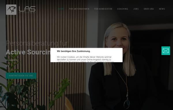 Vorschau von las-recruitment.de, LAS Recruitment