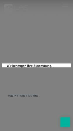 Vorschau der mobilen Webseite las-recruitment.de, LAS Recruitment