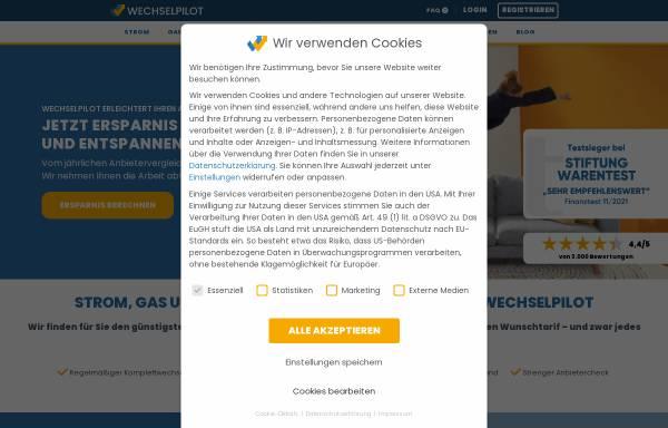 Vorschau von www.wechselpilot.com, Wechselpilot.com